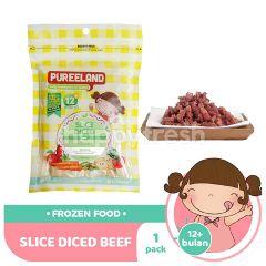 Pureeland Slice Diced Beef