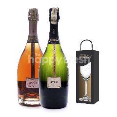 Freixenet Elyssia  Elyssia Pinot Noir Get Riedel Flute Glass Free