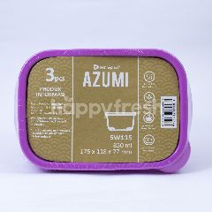 Technoplast Azumi Kotak Makan 850ml 175x118x77mm