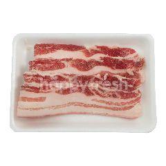 Daging Babi Tiga Lapisan Sum Gyup Sal dengan Kulit