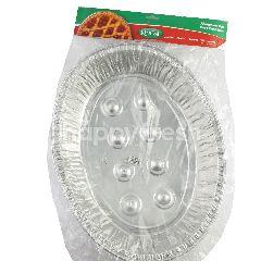 KingFoil Wadah Makanan Alumunium Foil  EX 7360 TP