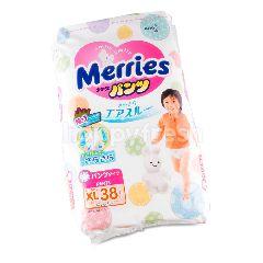 เมอร์รี่ส์ ผ้าอ้อมเด็กสำเร็จรูป แบบกางเกง XL (แพ็ค 38)