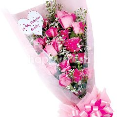 Citra Florist Bouquet Angela Pink