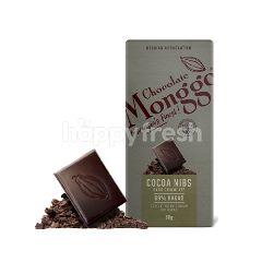 Monggo Cokelat Hitam Kokoa Nibs