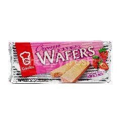 Garden Strawberry Cream Wafers