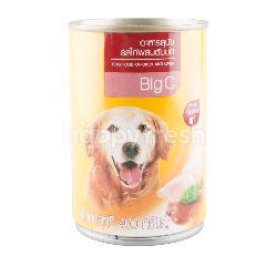 บิ๊กซี อาหารสุนัข รสไก่ผสมตับบด