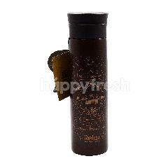 Relax Metallic Brown Flask