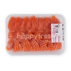Ikan Salmon Sashimi Norwegia