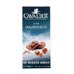 Cavalier Cokelat Susu Belgia dengan Kacang Hazel Tanpa Tambahan Gula