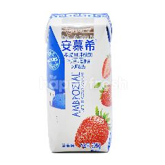 Ambrosial Greek Flavored Yoghurt Strawberry Drink