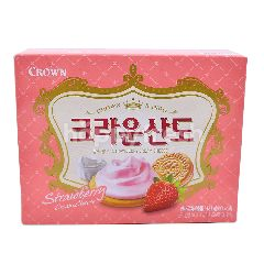Crown Strawberry Cream Cheese Biscuit