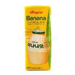 Banana Flavored Milk 200 ml