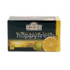 Ahmad Tea London Lemon & Lime Twist Tea