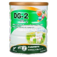 ดีจี - 2 นมผงจากนมแพะ สูตรต่อเนื่อง