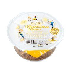 ไดมอนส์ เกรนส์ บานาน่า นาน่า ธัญพืชอบกรอบ ผสมกล้วยอบแห้ง