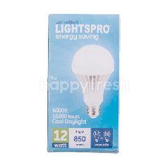 Lightspro Lampu Bohlam LED 12 watt Terang 850 lumens