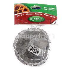 Kingfoil Wadah Makanan Alumunium Foil Ukuran Kecil