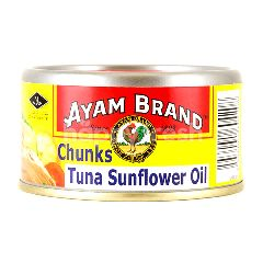 Ayam Brand Tuna Chunks In Sunflower Oil 150G