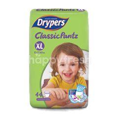 Drypers Classic Pantz XL Size (44 Pieces)