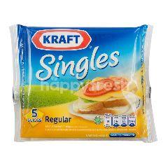 Kraft Keju Lembaran Singles Regular Tinggi Kalsium