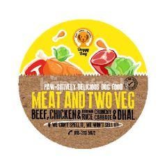 Doggy Bag Meat & Two Veg Dog Food 500g