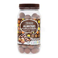 Tesco Almond In Milk Chocolate