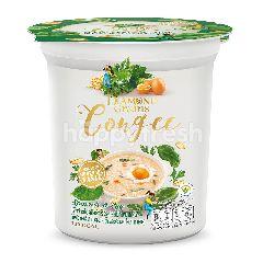ไดมอนส์ เกรนส์ โจ๊กข้าวโอ๊ตกึ่งสำเร็จรูป รสผักโขม และไข่ ชนิดถ้วย