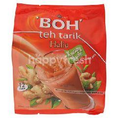 Boh Instant Milk Tea Beverage With Ginger Less Sweet