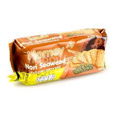 โฮมมี ขนมปังกรอบ รสสาหร่ายโนริ