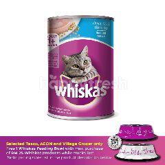 Whiskas Can Cat Wet Food Adult Ocean Fish 400G Cat Food