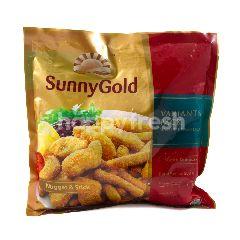 Sunny Gold Kemasan Varian Nuget dan Stik