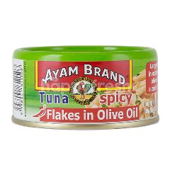Ayam Brand Spicy Tuna Flakes In Olive Oil 150G