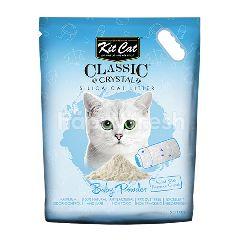 คิตแคท คิท แคท ทรายแมวคริสตัล กลิ่นแป้งเด็ก