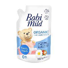 เบบี้มายด์ น้ำยาซักผ้าเด็ก เบบี้ทัช ผสมสารสกัดจากส้ม เเละยัคคะ รีฟิล 600 มล.