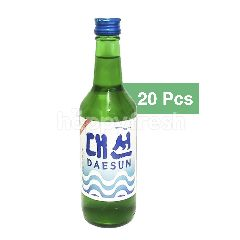 Daesun Authetic Korean Soju – 20 Bottles Case