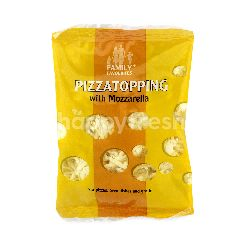FAMILY FAVORITES Pizza Topping With Mozzarella Slices