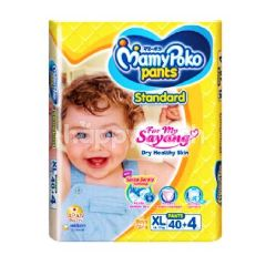 MamyPoko Standard XL Size Baby Pants For 12-17Kg (44 Pieces)