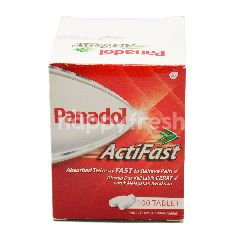 Panadol Actifast Paracetemol (100 Tablets)