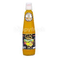 GK Label Hitam Sirup Markisa Asli