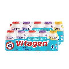 VITAGEN Assorted Cultured Milk Drink Less Sugar 625gr Twinpack