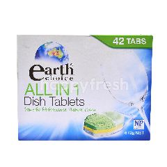 Earth Choice All In 1 Dish Tablets (42 Tabs)