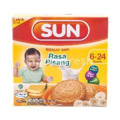 Sun Biskuit Bayi 6-24 Bulan Rasa Pisang