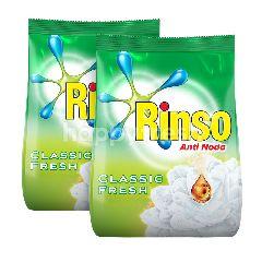 Rinso Deterjen Anti Noda Classic Fresh Twinpack