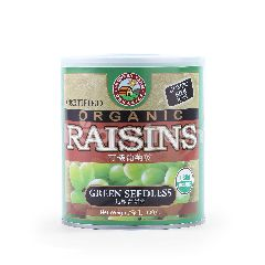 Country Farm Organics Organic Raisins Green Seedless