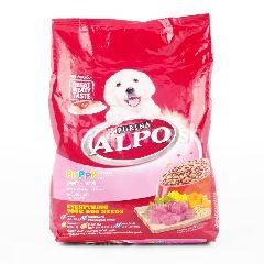 Alpo Makanan Anak Anjing dengan Daging Sapi dan Sayuran