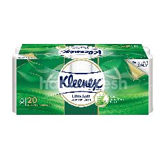 Kleenex Clean Care Aloe 190Sx20R Bathroom Tissue