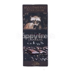 Mandailing Estate Coffee Cokelat Kopi Luwak 55% Hitam