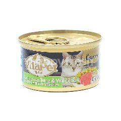VITAPET Supreme Cat Food With Tuna & Whitebait