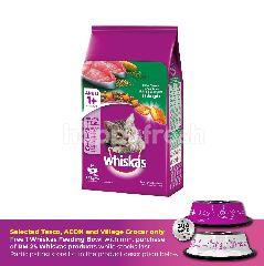 Whiskas Cat Dry Food Adult Tuna 1.2KG Cat Food