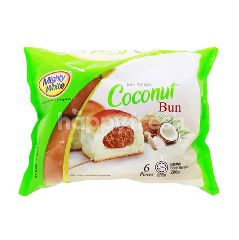 MIGHTY WHITE Coconut Bun (6 Pieces)